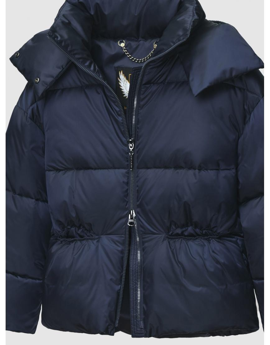 40 (3XS) – последний размер – куртка на молнии женская Braggart синяя осенне-весенняя 200036 фото 3