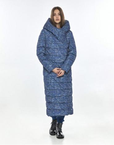 Удобная куртка с рисунком женская Vivacana зимняя 9470/21 фото 1