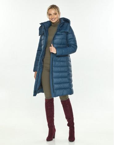 Комфортная куртка зимняя женская Kiro Tokao синяя 60084 фото 1