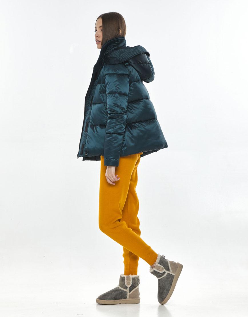 Куртка на весну женская Vivacana зелёная оригинальная 9742/21 фото 3