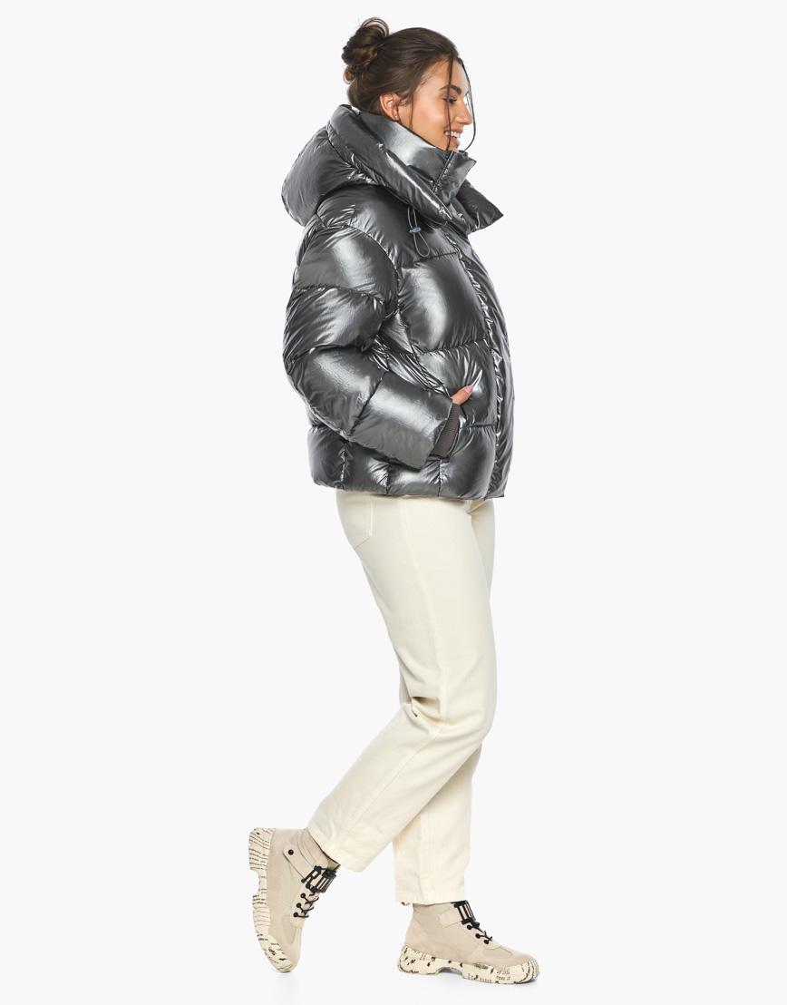 Воздуховик женский модный Braggart цвет темное серебро модель 44210 фото 4