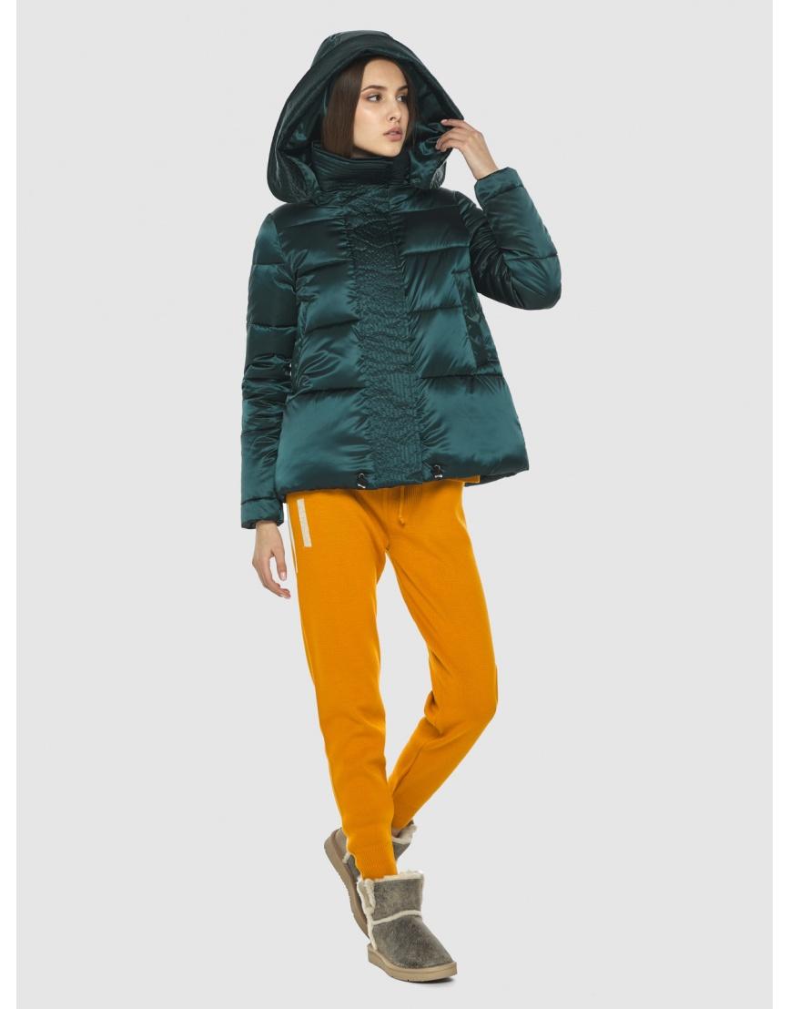 Курточка зелёная женская Vivacana комфортная  9742/21 фото 1