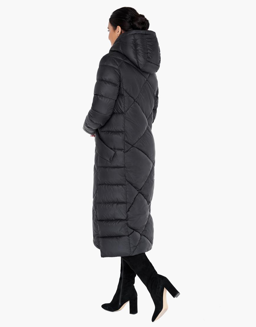 Зимний черный воздуховик женский Braggart высокого качества модель 31063 фото 4