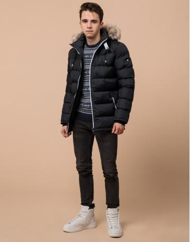 Куртка подростковая графитовая качественная модель 73563