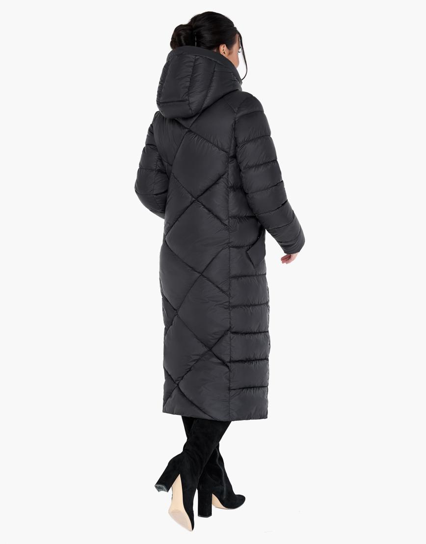 Зимний черный воздуховик женский Braggart высокого качества модель 31063 фото 5