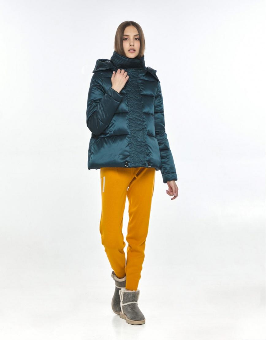 Куртка на весну женская Vivacana зелёная оригинальная 9742/21 фото 1