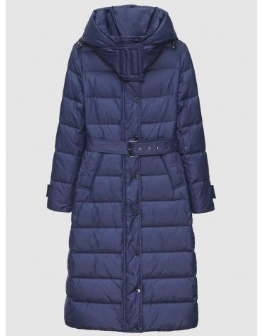 40 (3XS) – последний размер – длинная куртка женская Braggart синяя зимняя 200037 фото 1