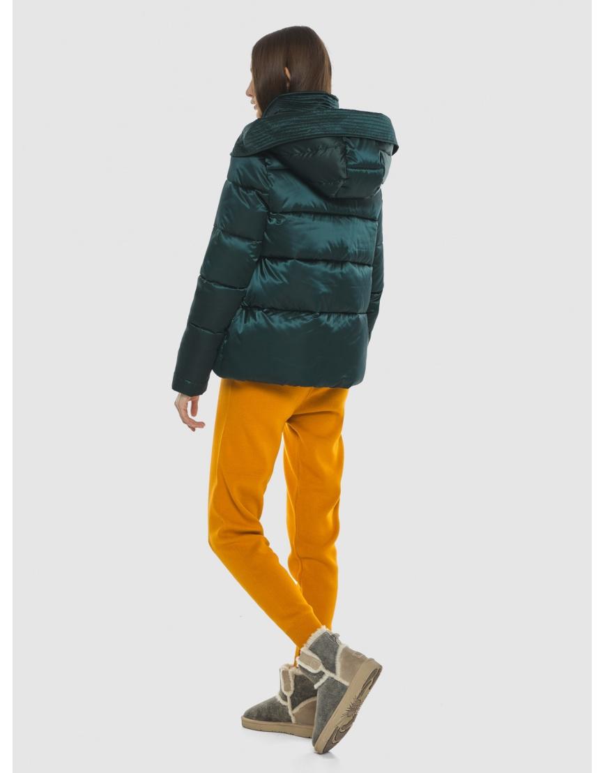 Курточка зелёная женская Vivacana комфортная  9742/21 фото 4