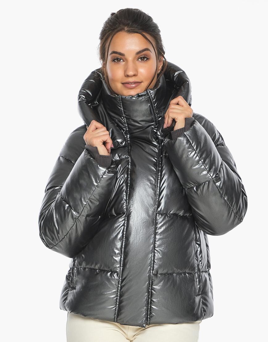 Воздуховик женский модный Braggart цвет темное серебро модель 44210 фото 1