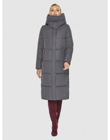 Куртка Kiro Tokao женская серая длинная 60024 фото 1