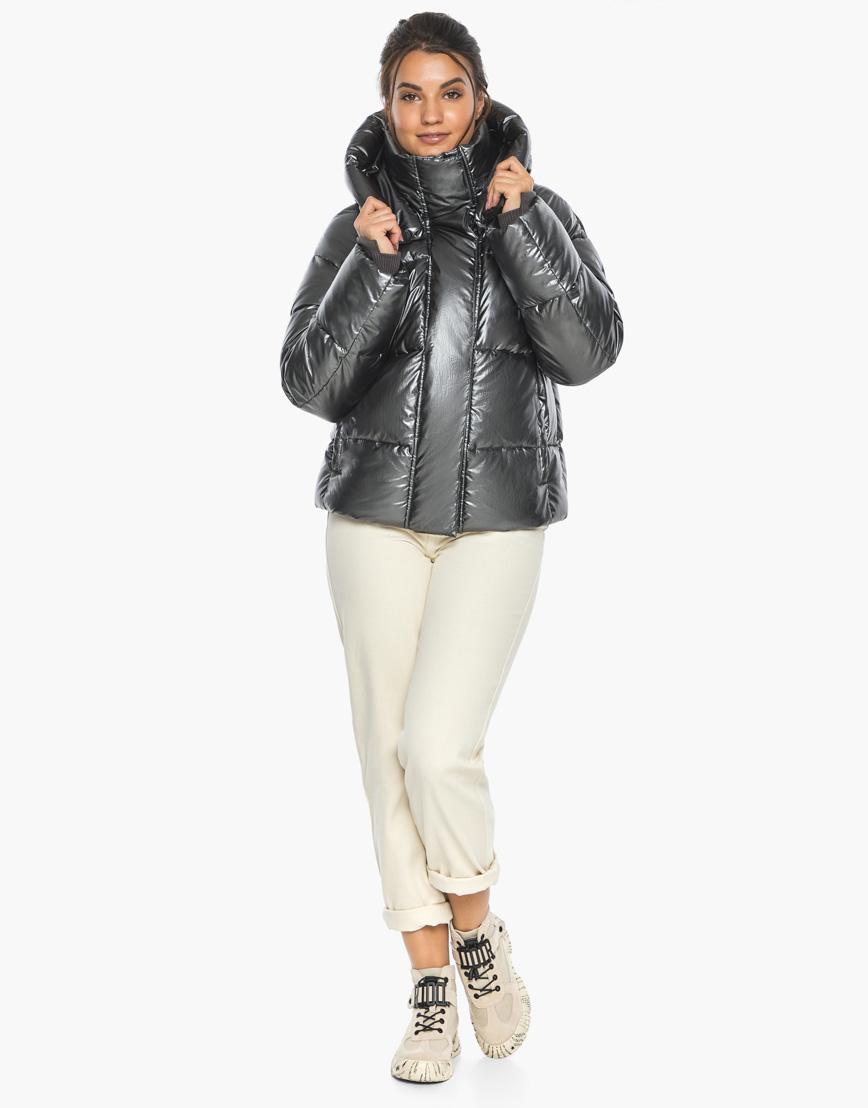 Воздуховик женский модный Braggart цвет темное серебро модель 44210 фото 5
