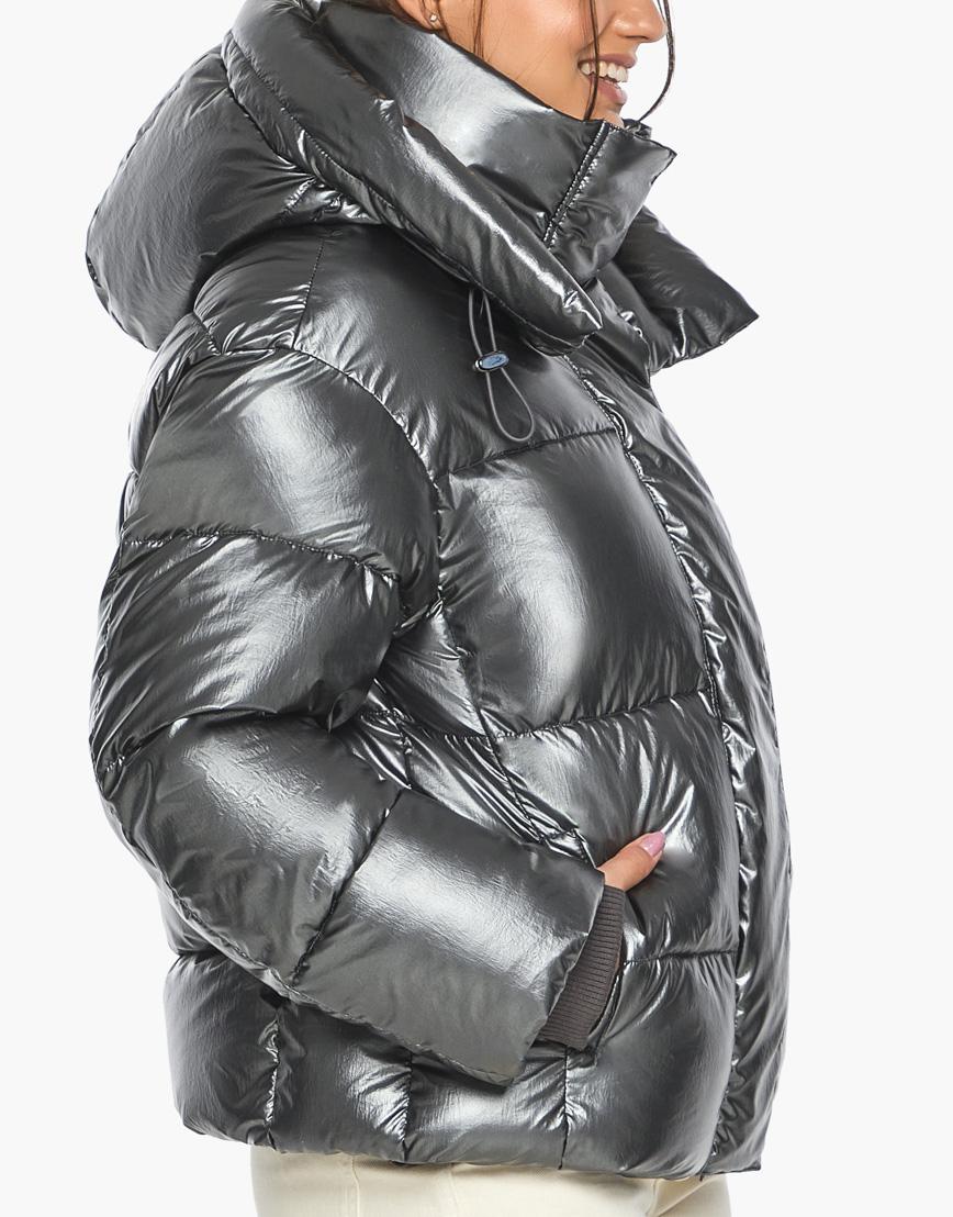 Воздуховик женский модный Braggart цвет темное серебро модель 44210 фото 7