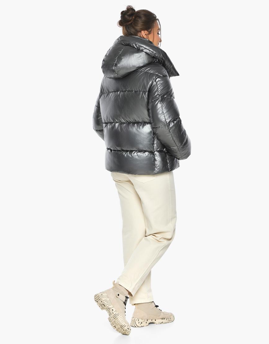 Воздуховик женский модный Braggart цвет темное серебро модель 44210 фото 6