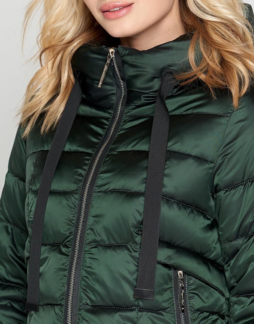 Зимний женский зеленый воздуховик Braggart модель 47250 оптом
