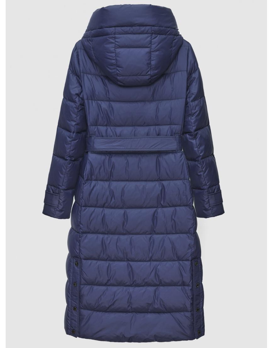 40 (3XS) – последний размер – длинная куртка женская Braggart синяя зимняя 200037 фото 2
