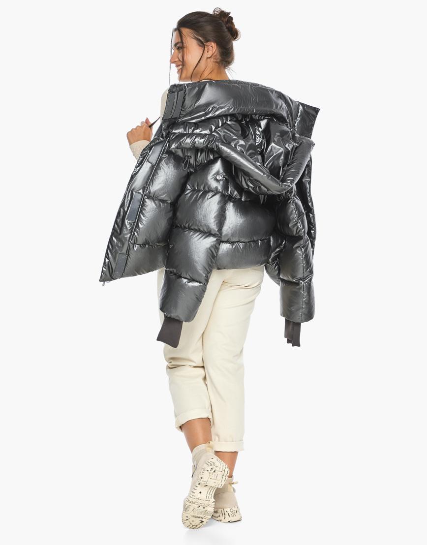 Воздуховик женский модный Braggart цвет темное серебро модель 44210 фото 3