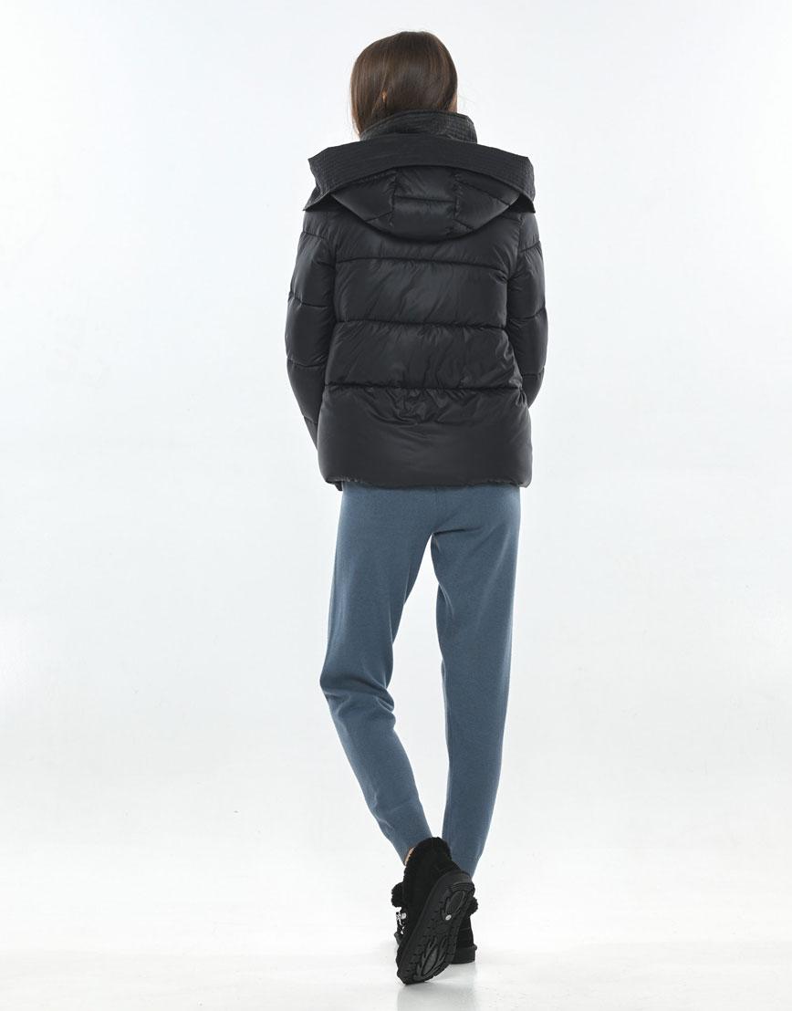 Трендовая куртка чёрная подростковая Vivacana 9742/21 фото 3