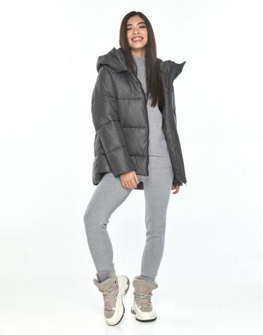 Практичная серая куртка подростковая Moc зимняя M6212 фото 1