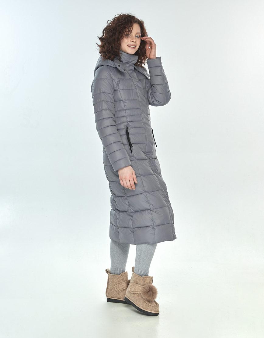 Куртка женская Moc комфортная цвет серый M6430 фото 2