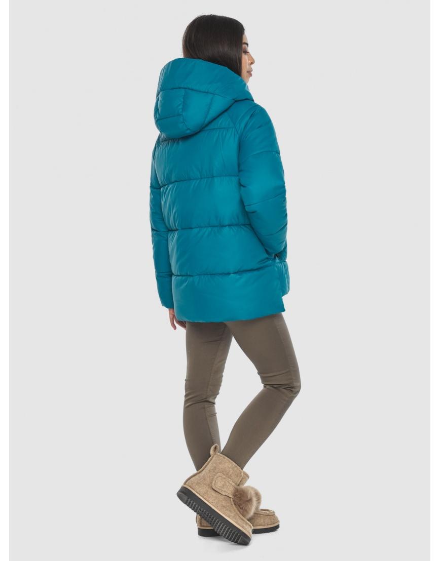 Трендовая аквамариновая куртка Moc женская M6212 фото 4