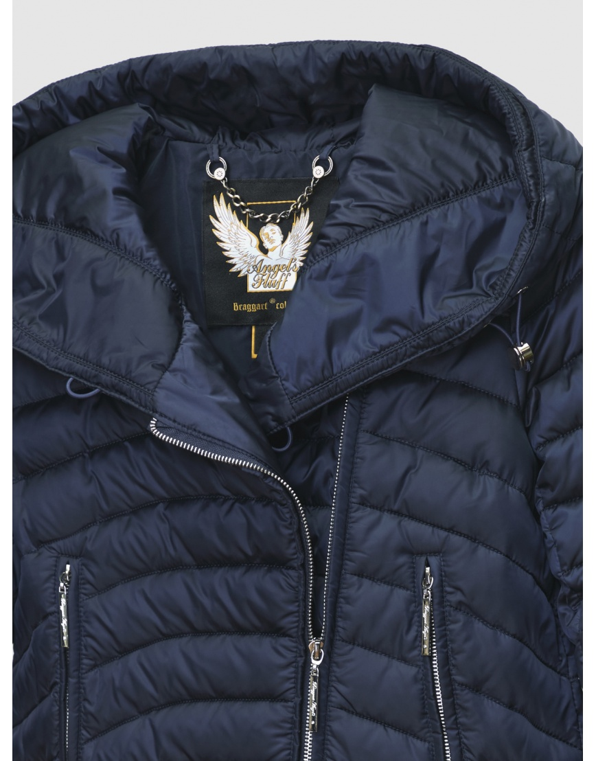 Куртка с манжетами женская Braggart синяя зимняя 200032 фото 3