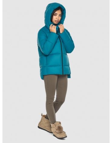 Трендовая аквамариновая куртка Moc женская M6212 фото 1