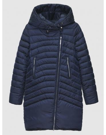 Куртка с манжетами женская Braggart синяя зимняя 200032 фото 1