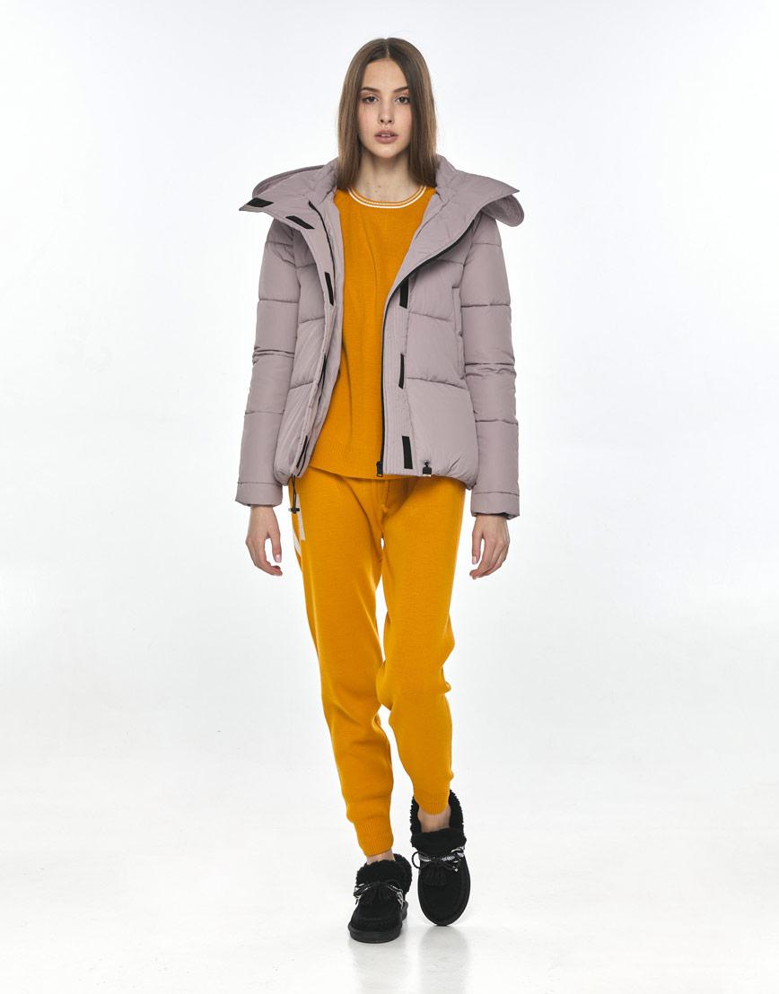 Удобная куртка Vivacana пудровая подростковая на девушку 9742/21 фото 2