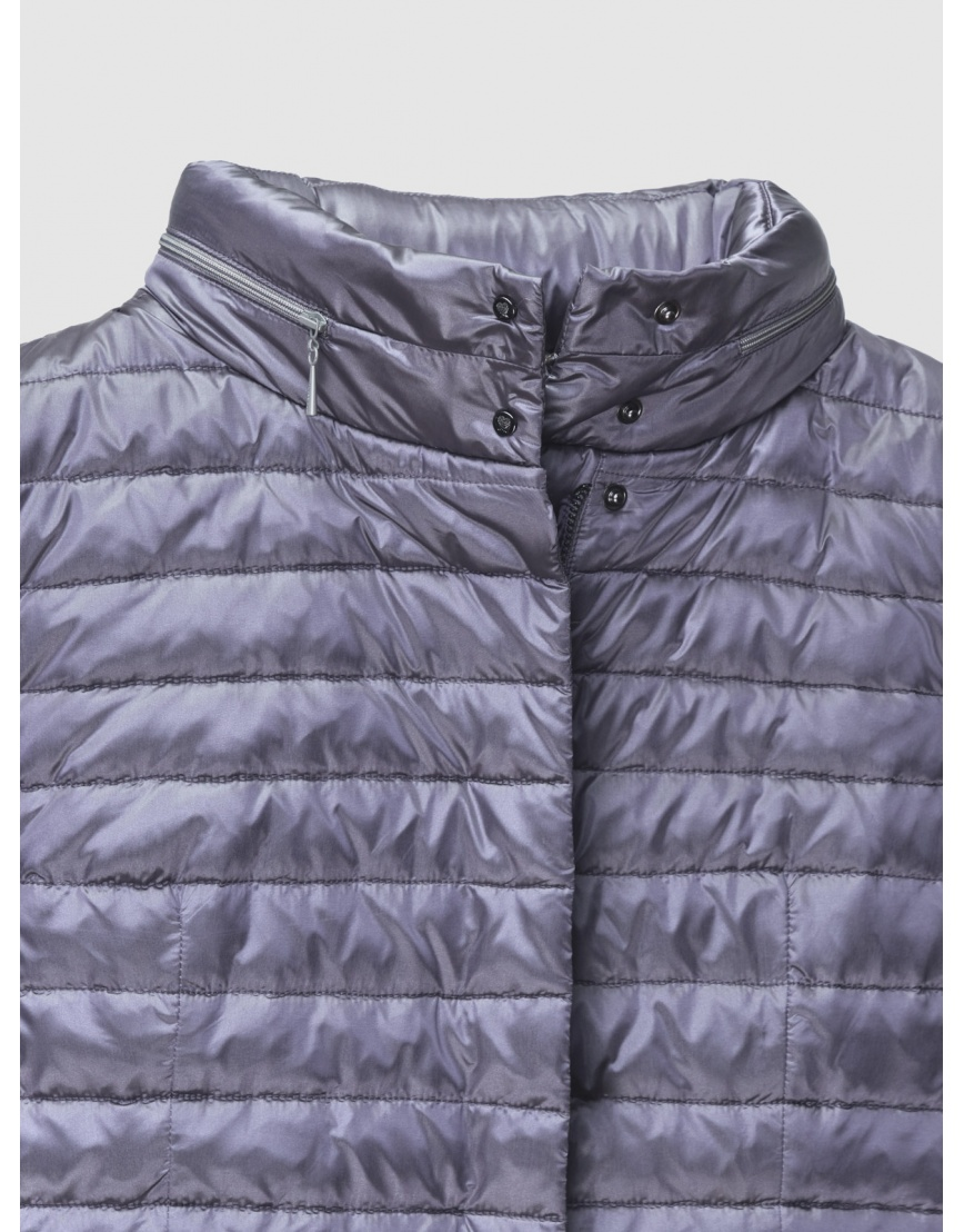 48 (M) – последний размер – куртка женская Braggart серая осенняя короткая 200038 фото 5