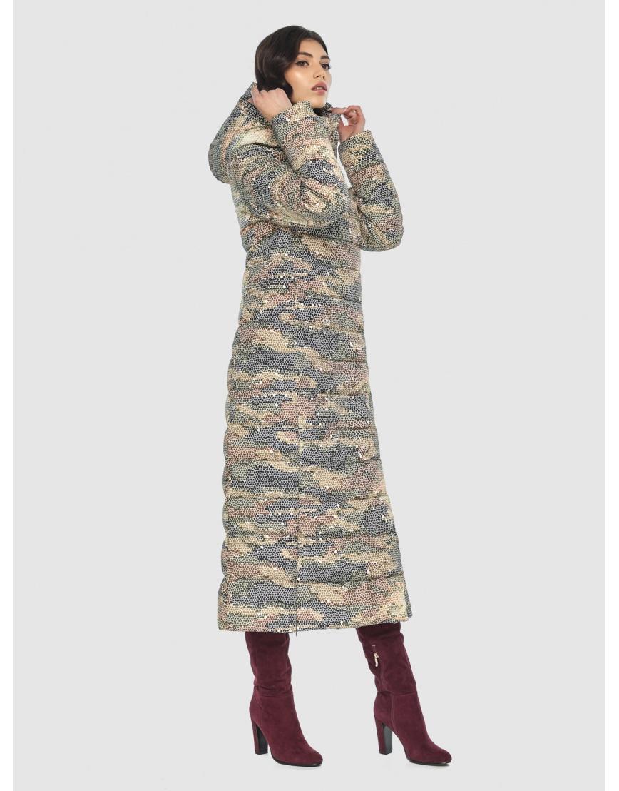 Люксовая куртка с рисунком зимняя подростковая Vivacana 8320/21 фото 2