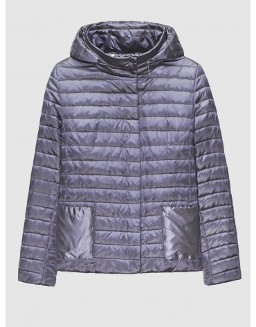 48 (M) – последний размер – куртка женская Braggart серая осенняя короткая 200038 фото 1