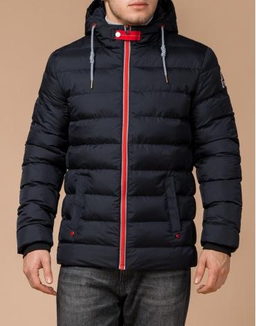 Куртка оригинальная цвет темно-синий-красный модель 35228 фото 1