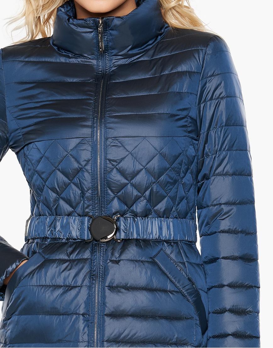 Женский воздуховик Braggart с карманами осенне-весенний цвет темная лазурь модель 39002 фото 5