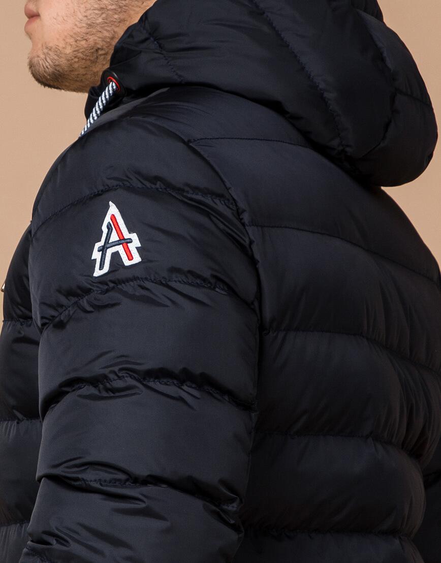 Куртка оригинальная цвет темно-синий-красный модель 35228 фото 6