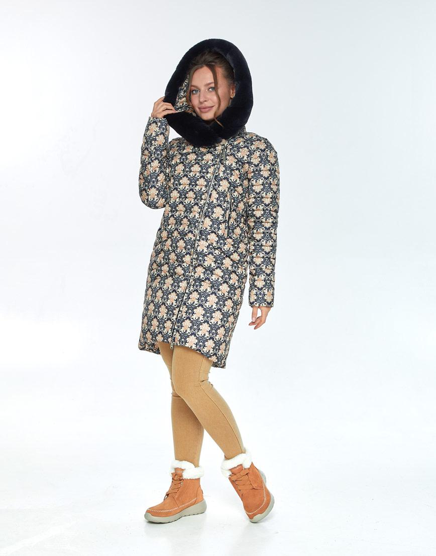 Куртка с рисунком женская Ajento на молнии 24138 фото 2