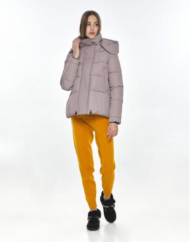 Удобная куртка Vivacana пудровая подростковая на девушку 9742/21 фото 1