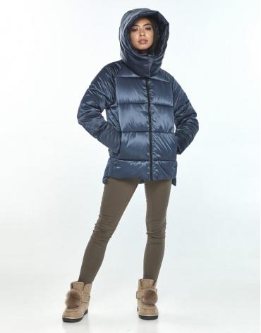 Оригинальная синяя куртка подростковая Moc зимняя M6212 фото 1