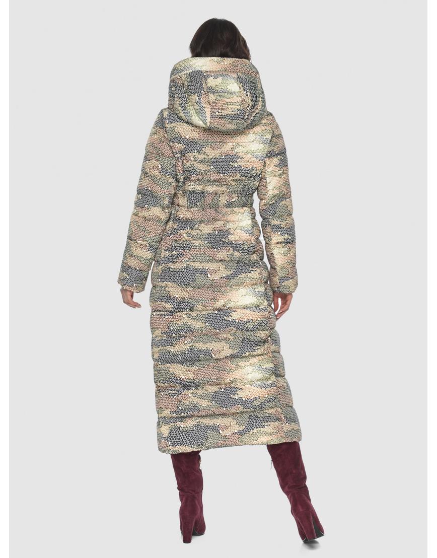 Люксовая куртка с рисунком зимняя подростковая Vivacana 8320/21 фото 4