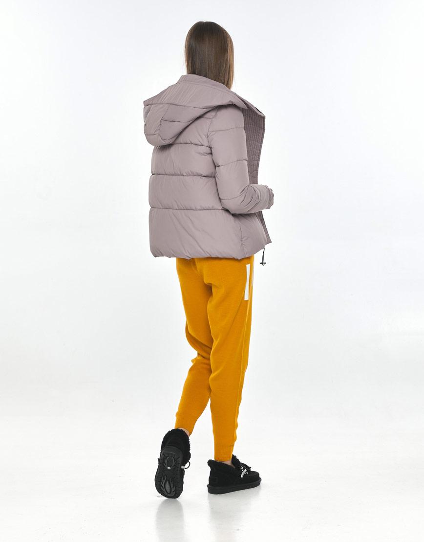 Удобная куртка Vivacana пудровая подростковая на девушку 9742/21 фото 3