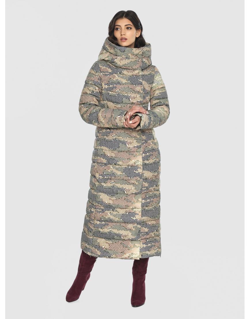 Люксовая куртка с рисунком зимняя подростковая Vivacana 8320/21 фото 3