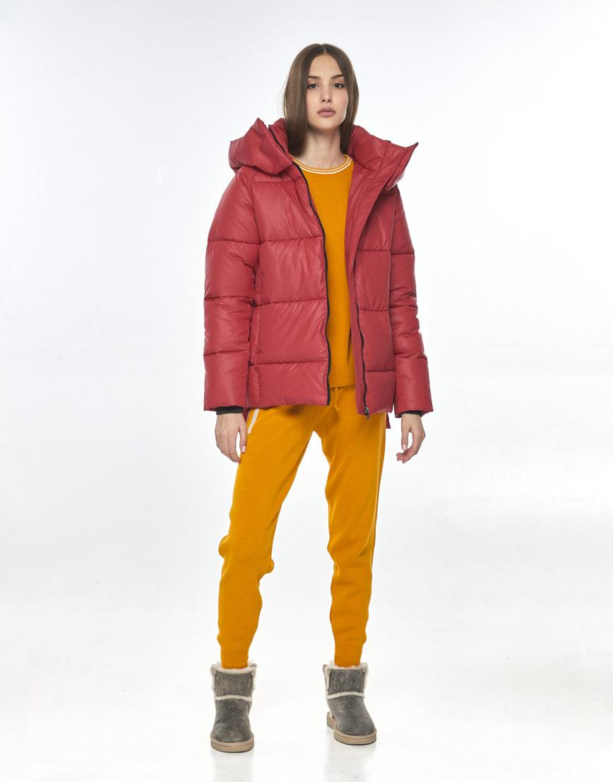 Красная куртка женская Vivacana 7354/21 фото 1