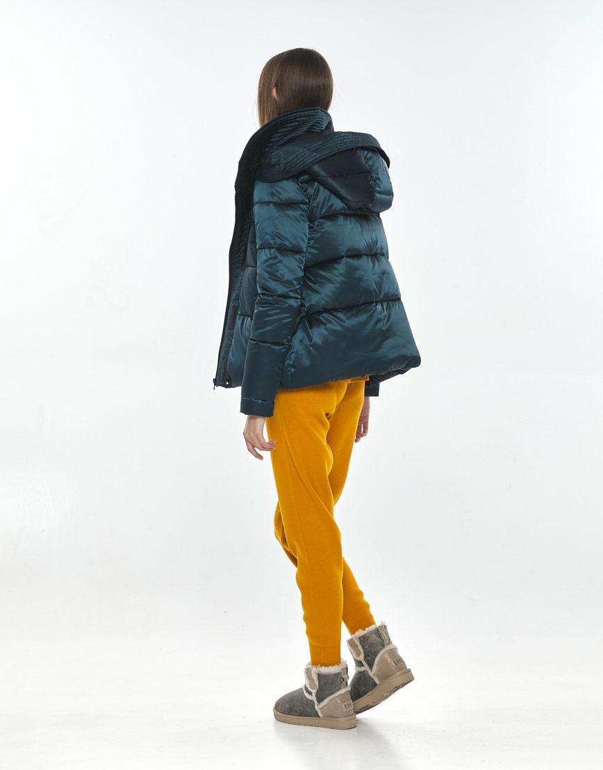 Стильная куртка зелёная подростковая Vivacana 9742/21 фото 3