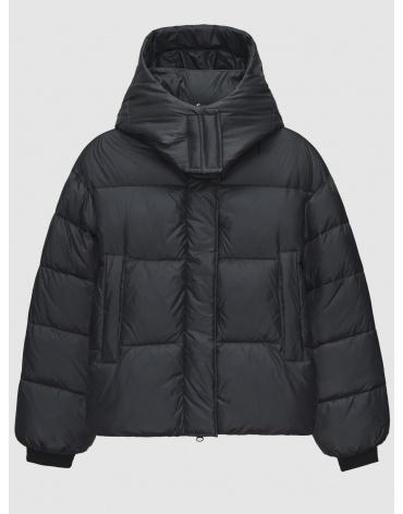 46 (S) – последний размер – куртка с карманами женская Braggart серая зимняя 200039 фото 1