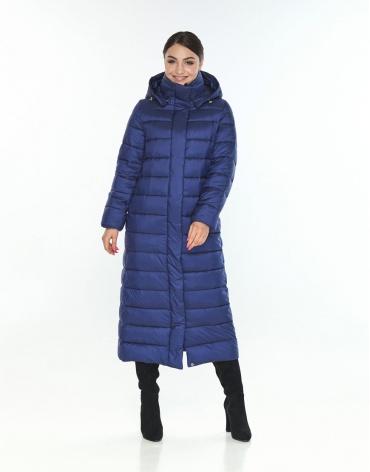 Фирменная женская куртка большого размера Wild Club синяя 524-65 фото 1