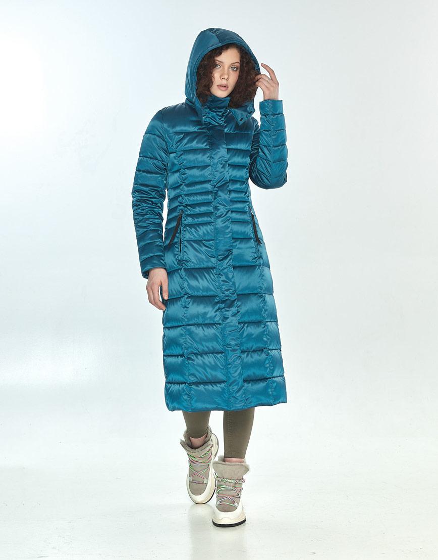 Куртка женская Moc удобная аквамариновая M6430 фото 1