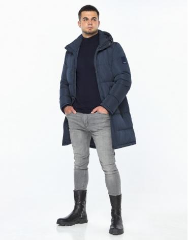Куртка синяя комфортная модель 23410