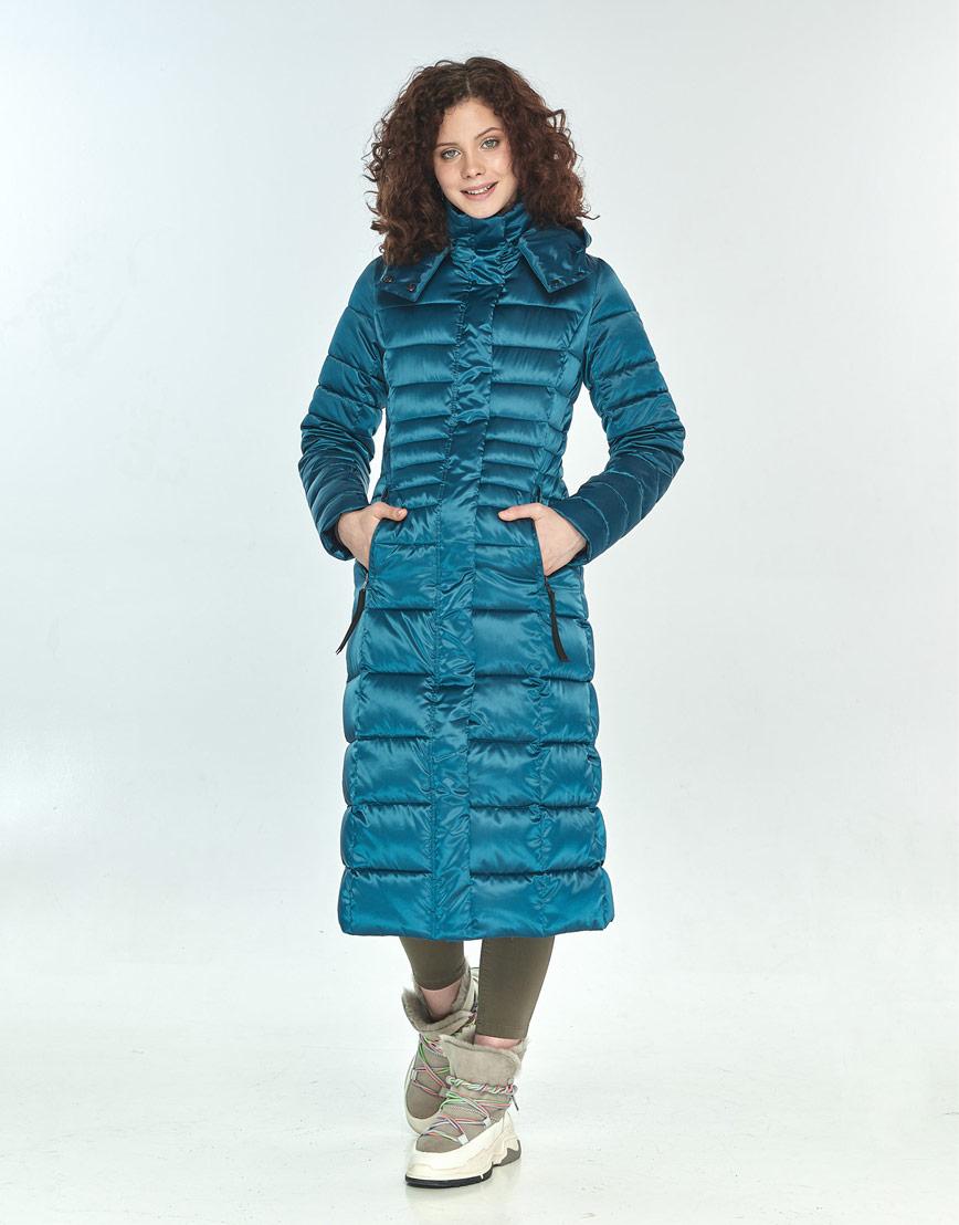 Куртка женская Moc удобная аквамариновая M6430 фото 2