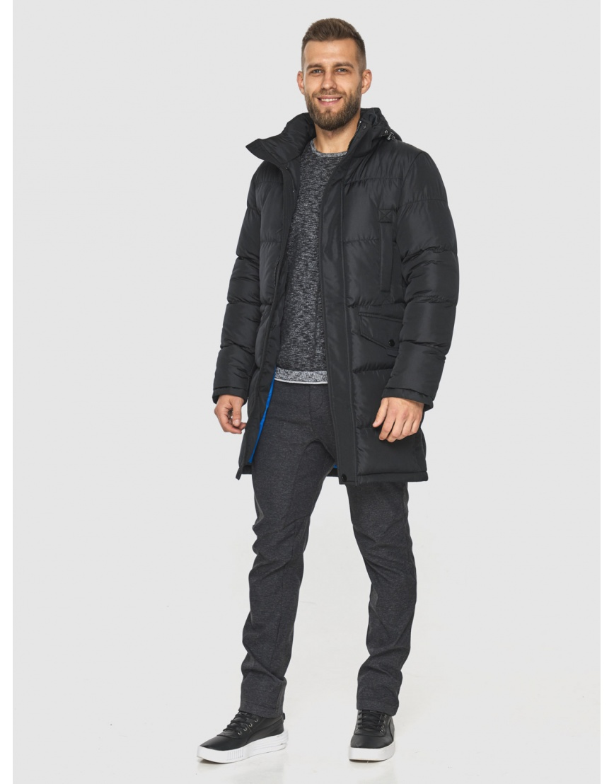 Куртка с карманами мужская Tiger Force чёрная 2814 фото 2