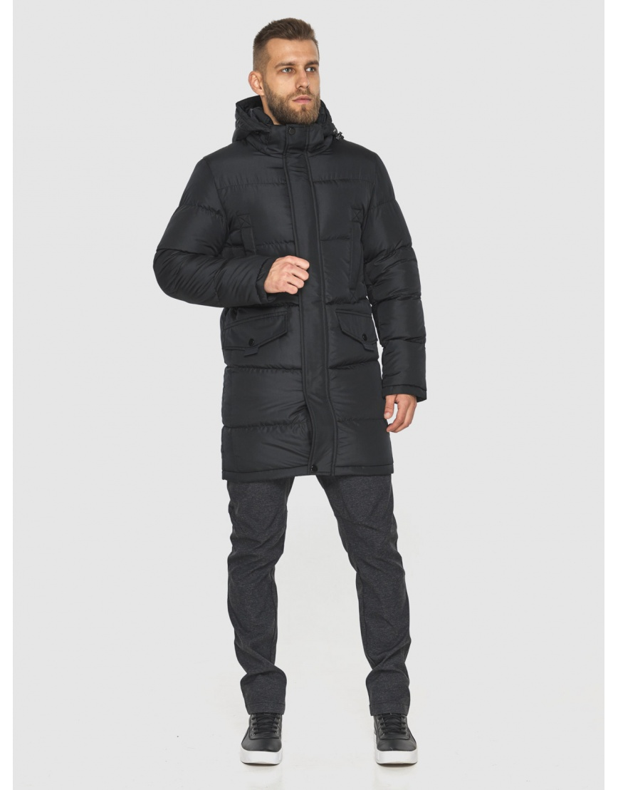 Куртка с карманами мужская Tiger Force чёрная 2814 фото 4