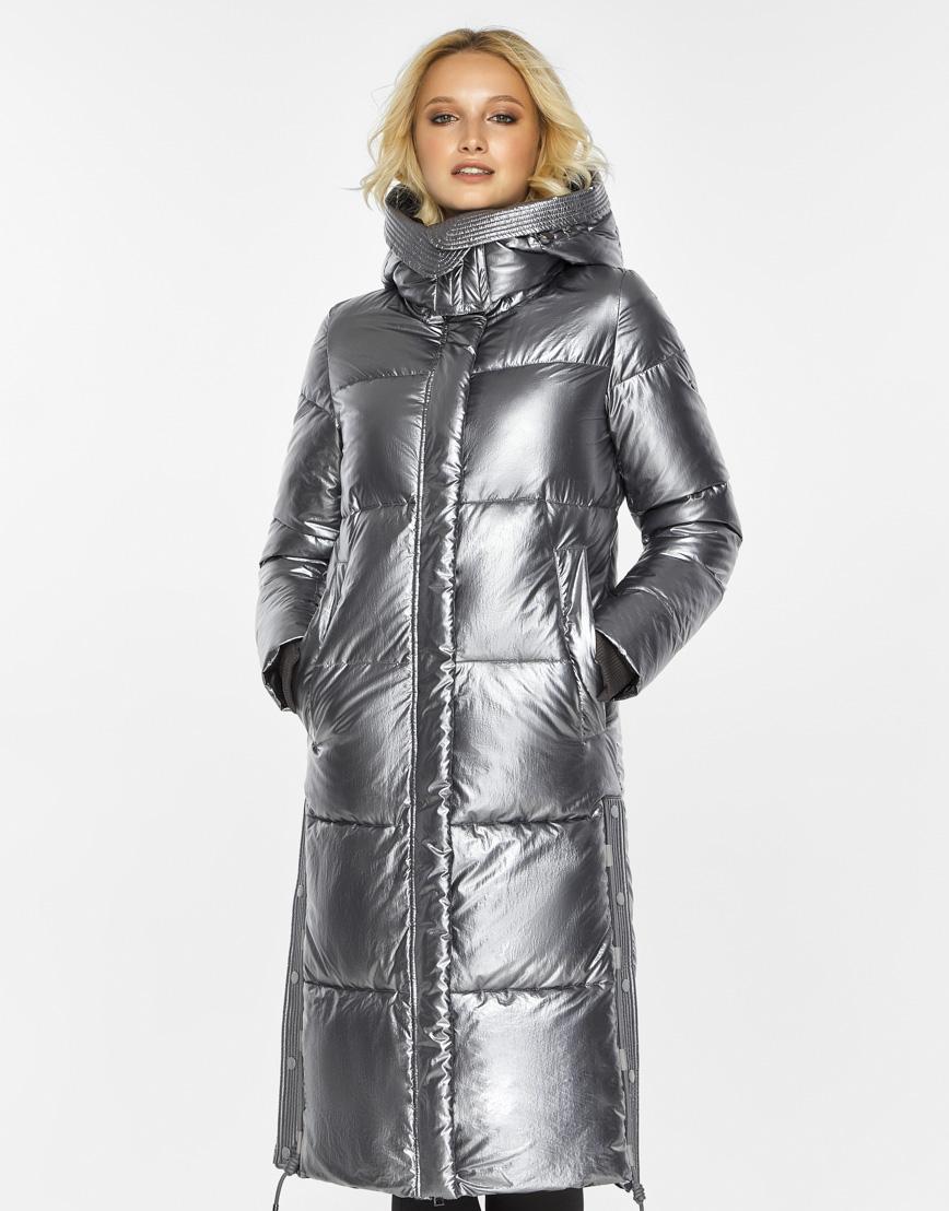 Женский воздуховик Braggart зимний трендовый цвет серебро модель 42650 фото 2